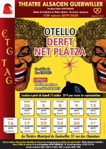 Affiche Otello Derf Net Plàtza